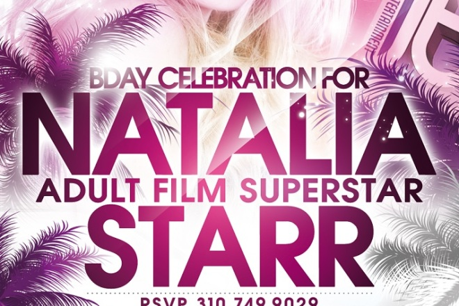 Adult Star Natalia Starr Birthday at Colony Hollywood Nightclub