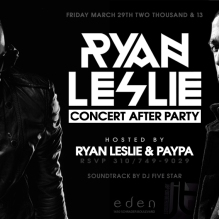 Fridays at Eden Hollywood Nightclub in LA