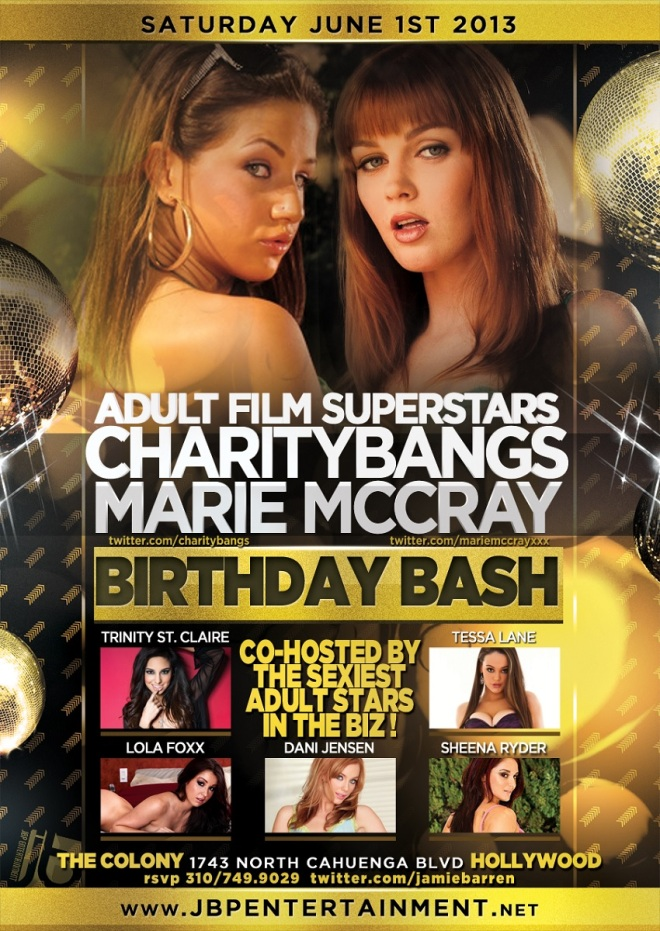 Charity Bangs and Marie McCray Birthdays at Colony LA