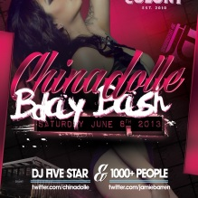 Video Vixen Model Chinadolle Birthday at Colony