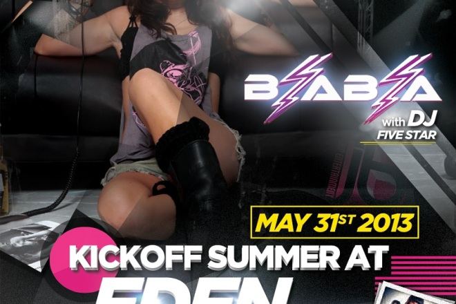 Dj Bia Bia Summer Kickoff Party at Eden