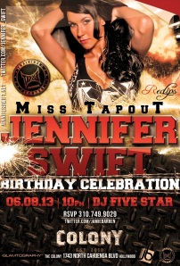 Ms Tapout Jennifer Swift Birthday at Colony
