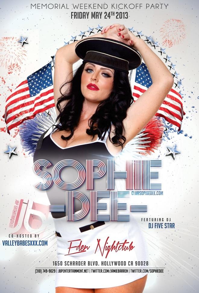 MDW 2013: Sophie Dee Hosts Eden Nightclub