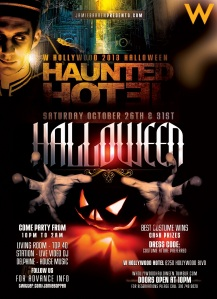 Haunted Hotel Halloween 2013 at the W Hollywood
