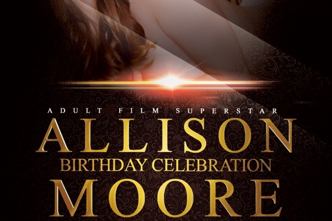 Adult Star Allison Moore Birthday at Colony LA