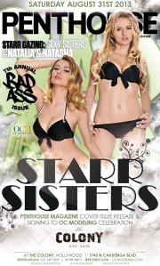 """Natasha and Natalia Starr OC Modeling and Penthouse Magazine Celebration"""