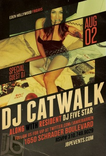 """Dj Catwalk at Eden Hollywood Fridays"""