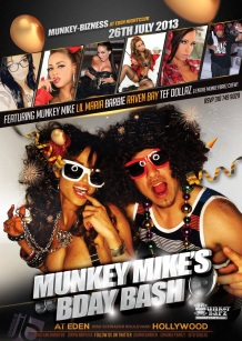 """Adult Stars Barbie and Raven Bay Host MunkeyBarz at Eden"""