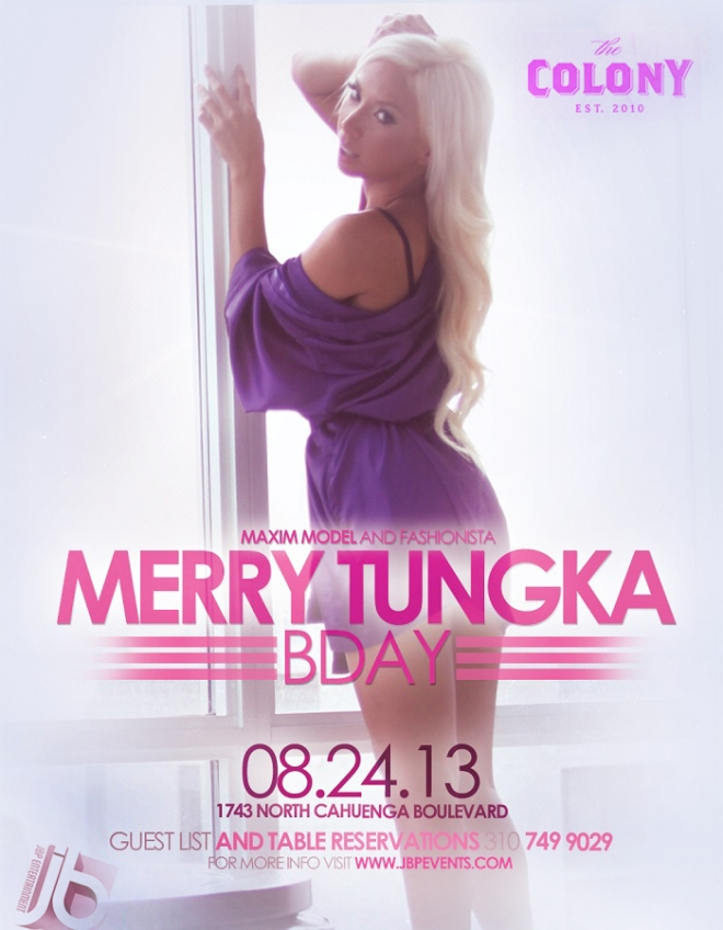 """Maxim Model Merry Tungka Birthday at Colony"""