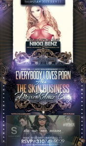 Skin Business Movie Release Party at Supperclub