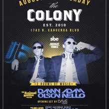"""Colony Hollywood Saturdays"""