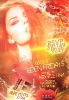 """SuperModel Krystle Lina Hosts Eden Fridays"""