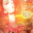 """SuperModel Krystle Lina Hosts Eden Fridays"""