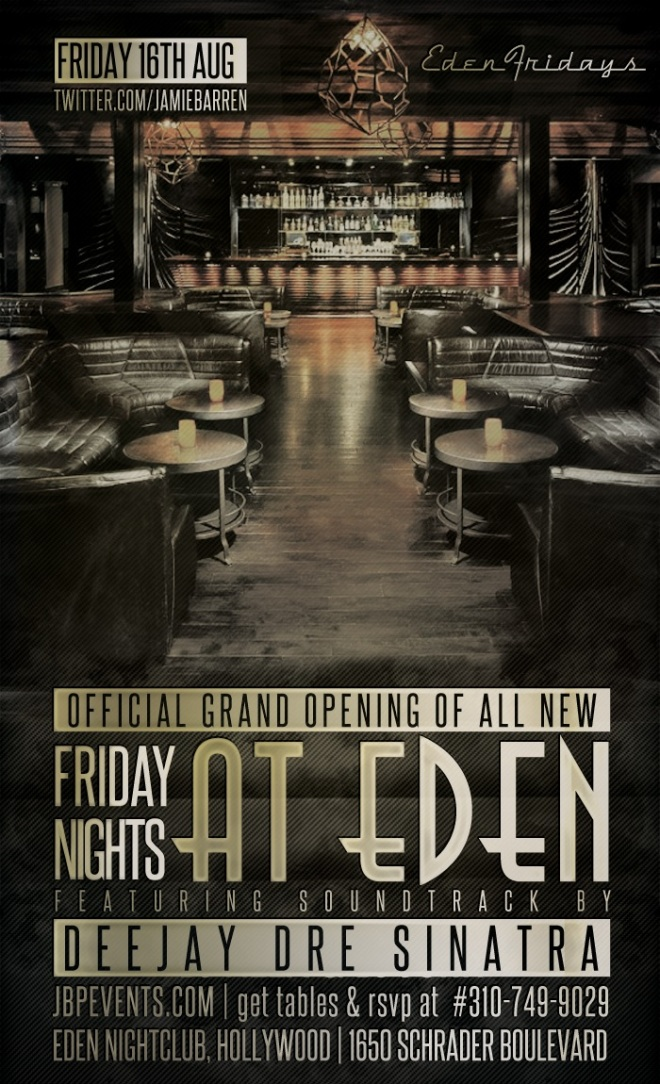 """Grand Opening of New Fridays at Eden Hollywood"""