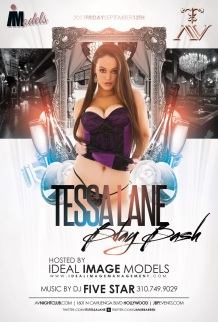 """Ideal Image Models Tessa LAne Birthday at AVnightclub"""