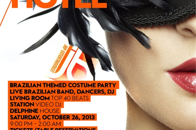 """W Hotel Hollywood Halloween 2013"""