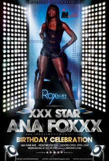 """Ideal Image Models Ana Foxxx Birthday at Roxbury"""