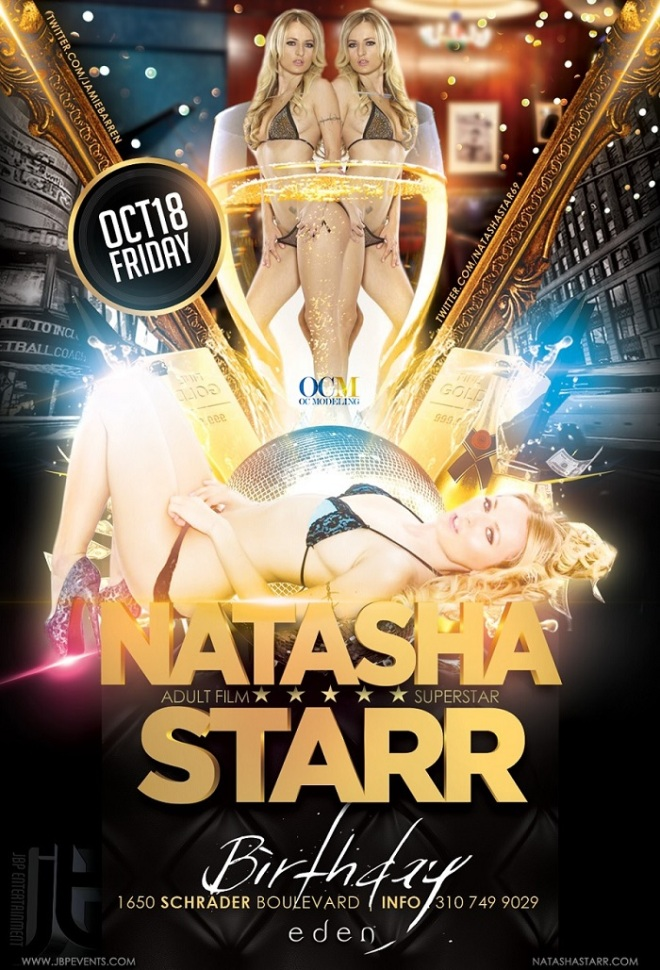 """Natasha Starr Birthday at Eden"""