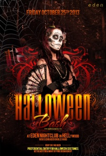 """Eden Hollywood Halloween 2013 October 25"""