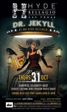 """Hyde Bellagio Vegas Halloween"""
