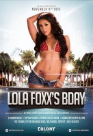 """ATMLA Adult Star Lola Foxx Birthday at Colony"""