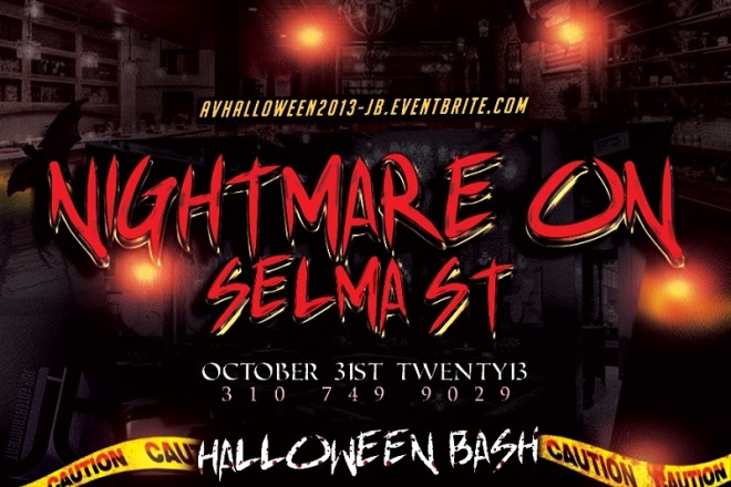 """Nightmare Selma Street Halloween Party"""