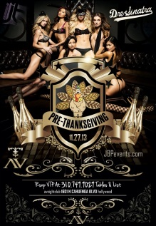 """AVnightclub Wednesday November 27 flyer image"""