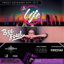 """Playhouse Nightclub Hollywood Fridays 2013 December 20 flyer image"""