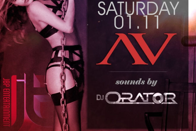 """AVnightclub Hollywood Saturdays 2014 January 11 flyer 700x713"""