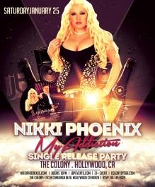 """""""Colony Hollywood Saturdays 2014 January 25 flyer 700x849"""""""