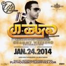 """Playhouse Hollywood Fridays 2014 January 24 flyer 800x800"""