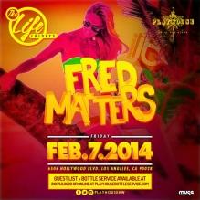 """Playhouse Nightclub Fridays 2014 February 7 flyer 800x800"""
