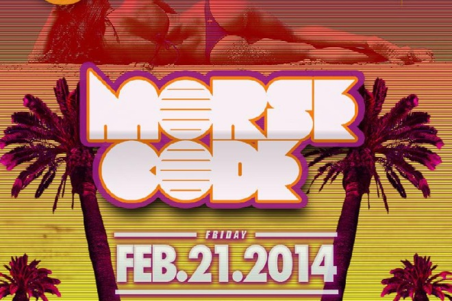 """DJ Morse Code Playhouse Club flyer 800x800"""