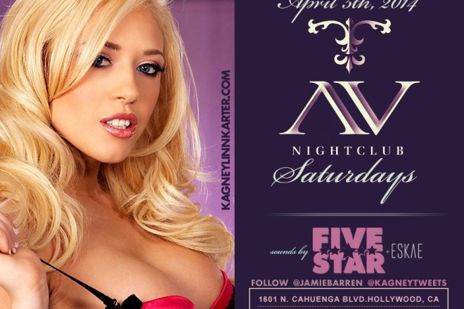 """AV Nightclub Saturdays Kagney Linn Karter Birthday"""