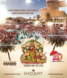 """Daylight Beach Vegas Cinco de Mayo Weekend"""