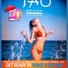 Tao Beach 2014 Opening Day Pool Party