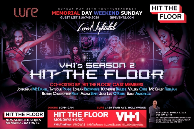 """VH1s Hit the Floor Season 2 Takeover Party at Lure"""