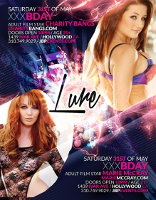 """Charity Bangs and Marie McCray Birthdays at Lure"""
