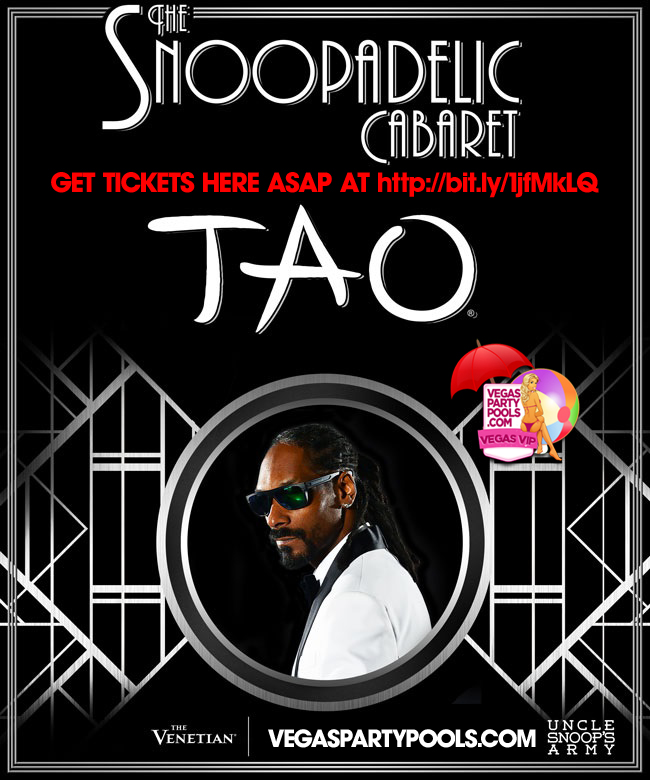 """MDW 2014 Snoop Dogg at TAO Las Vegas"""