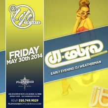 """DJ Cobra Friday Playhouse Hollywood"""