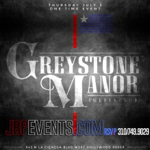 """Pre-4th July Party Greystone Manor"""