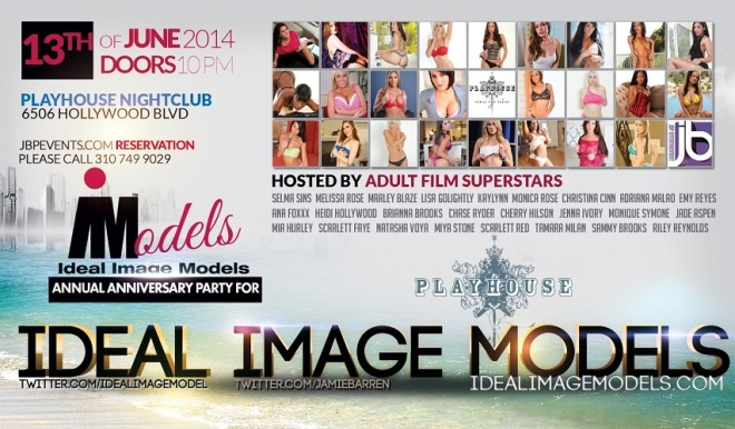 """Ideal Image Models Anniversary Party Playhouse"""