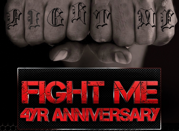 """Fight Me Clothing 4yr Anniversary Party"""