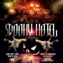 """Spooky Hotel W San Francisco Halloween"""