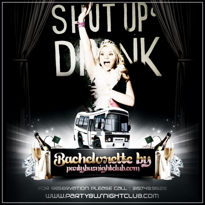 """How To Bachelorette LA Party Bus"""