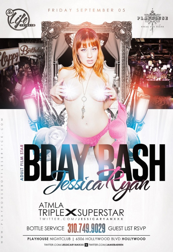 """Playhouse Nightclub Jessica Ryan ATMLA Birthday"""