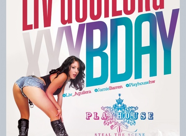 """Adult Star Liv Aguilera Birthday at Playhouse"""