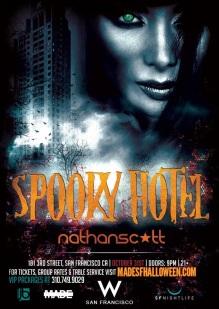"""W San Francisco Halloween 2014 Spooky Hotel"""