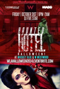 """Haunted Hotel W Los Angeles Halloween"""