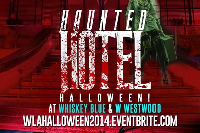 """Haunted Hotel W Los Angeles Halloween"""